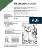 M5-Betaregeln Beschwörer Version 1.3