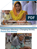 Presentation - Challenges Affecting a Changing Society, Women, Poverty and Sustainable Enterprises