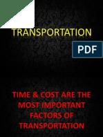 Transportation Final Ppt