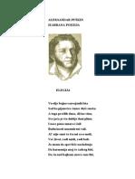 Aleksandar Sergejevic Puskin - Poezija