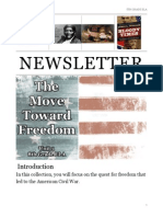 unit 3 newsletter - the move toward freedom