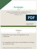 Curso Guias 2012 Ecologia Daphne