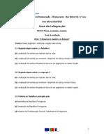 Teste de Avaliação A.I. tema-problema 6.2