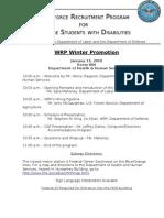 WRP Winter Promotion Program