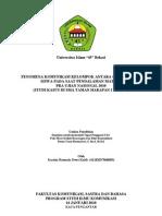 Usulan Penelitian Skripsi (Ilmu Komunikasi