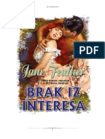 Jane Feather Brak Iz Interesa