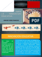 8.- Concepto de Innovación