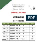 Torneio Inter-turmas de Futsal