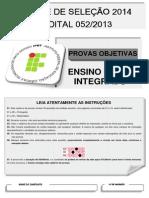 e.m.integrado Edital 052 2014 1