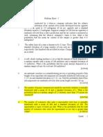 73850324 Problem Sheet I Sampling Distributions