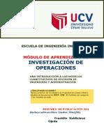Modulo de Investigación de Operaciones-2013 Pel