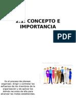 Administacion Concepto e Importancia, Capacitacion y Desarrollo Del Personal