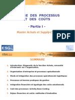 Maîtrise des processus et des coûts - partie 1