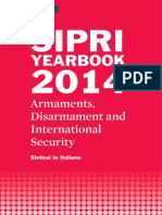 SIPRI Yearbook 2014 Sintesi in italiano