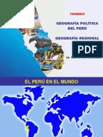 Geografía política del Perú y regional de Lima