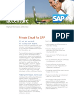 Accenture Private Cloud for SAP