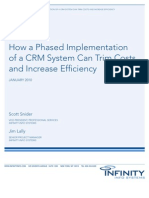 How a Phased Implementation of a CRM System Can Trim Costs and Increase Efficiency