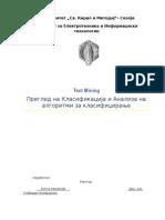 TextMining Classification