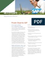 Accenture Private Cloud for SAP