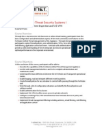 201 - FortiGate Multi-Threat Systems I