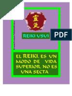 Reiki No Es Una Secta