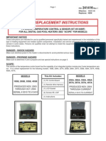 Raypak RP2100 Digital Gas Spa and Pool Heater