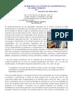 (12) ¨A LOUCURA DOS NORMAIS, (LA LOCURA DE LOS NORMALES),¨  DE JORGE MENEZES