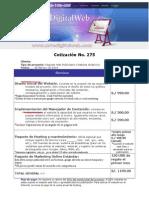 Cotización Paquete Web Publicitario V2
