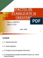 Prezentare Pact Stabilitate