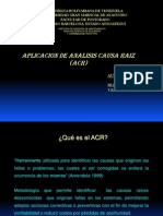 Aplicación ACR