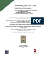 Catalogue Selectif Mois Du Patrimoine 2005