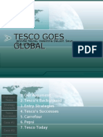 tesco goes global Tesco's history since 1919 every little helps as tesco goes global 1992 at the global summit of the consumer goods forum.