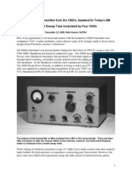 6DQ5 Homebrew Transmitter