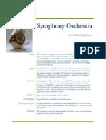 symphony orchestra management plan