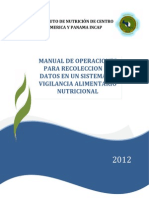 Manual de Operaciones Generico Para Recoleccion de Datos SP