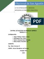 Informe CEPS Empresa PROMASA