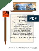 Hoja de Presentacion Instituto Tecnologico del Istmo - Ingenieria industrial