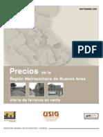Precio GBA Sept2007