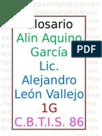 GLOSARIO - Alin Aquino Garcia 1G