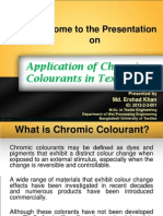 Chomic Colourants in Textiles