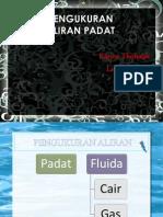 Pengukuran Aliran Padat Karin&Lidi