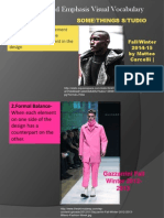 fashion assignment -balance and emphasis in fashion visual vocabulary