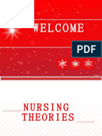 Introduction to nursing theories