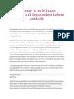Steve Pavlina - Wie Man in 20 Minuten Den Sinn Und Zweck Seines Lebens Entdeckt