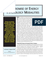The Promise of Energy Psychology Nexus PDF by Brendan d. Murphy