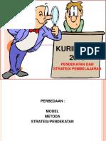 2.Pendekatan Dn Strategi PBM Kuri 13