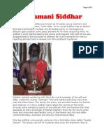 Rasamani Siddhar-Srivastav Guruji