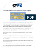 Geology IN_ Safety in the Field and General Guidance for Geological Fieldwork.pdf