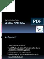 Sifat Sifat Umum Bahan Dental-KULIAH II