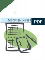 medium-term plans
